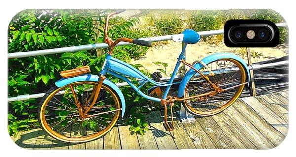 Ocean Grove Bike IPhone Case