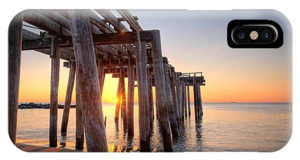 Ocean Grove Pier Sunrise IPhone Case