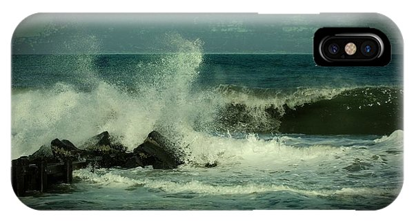 Ocean Impact - Jersey Shore IPhone Case