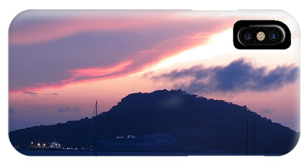 Ocean Island Sunrise IPhone Case