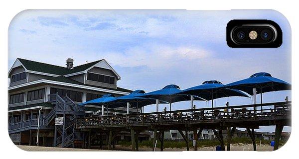 Ocean Pier And Restaurant IPhone Case