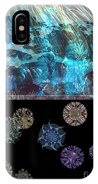 Reef Diving iPhone Case - Ocean Plankton by Ursula Freer