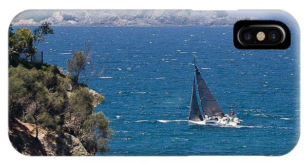 Ocean Racing I IPhone Case
