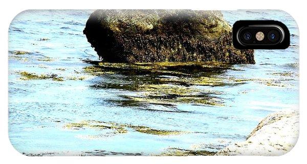 Ocean Rock Phone Case by Dancingfire Brenda Morrell