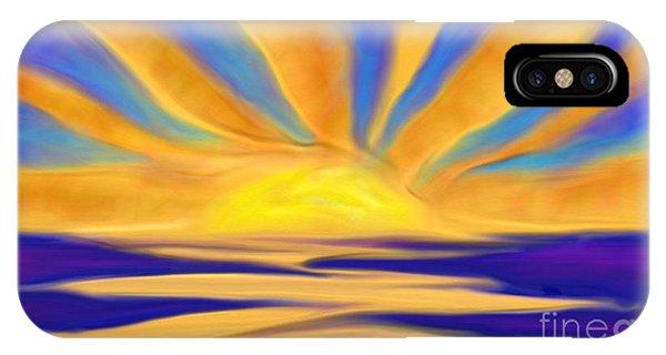 Ocean Sunrise IPhone Case