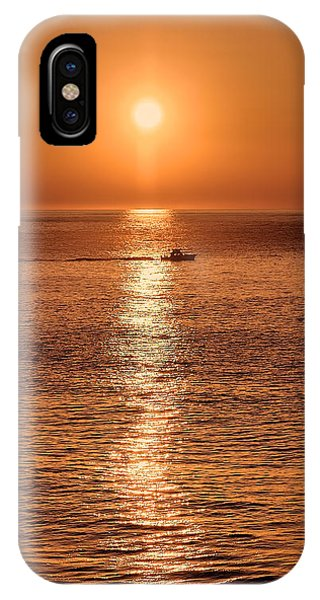 Ocean Sunrise At Montauk Point IPhone Case