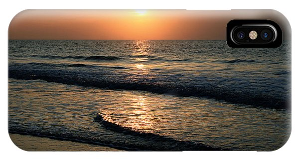 Ocean Sunrise Over Myrtle Beach IPhone Case