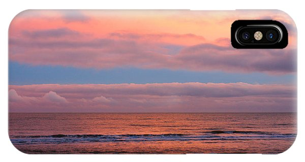 IPhone Case featuring the photograph Ocean Sunset by Jeremy Hayden