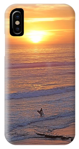 Ocean Sunset Surf  IPhone Case