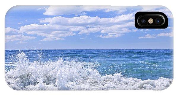 Pacific Ocean iPhone Case - Ocean Surf by Elena Elisseeva