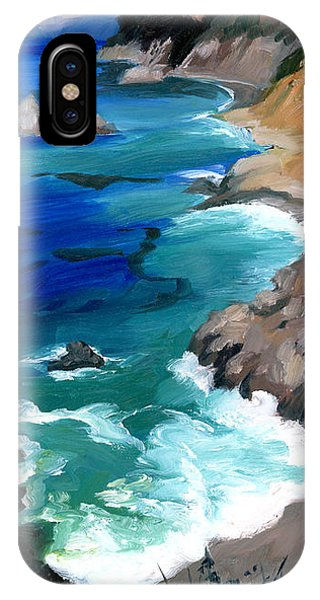 Ocean View At Big Sur IPhone Case