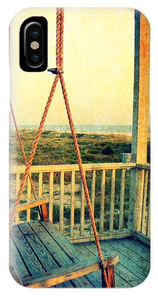 Ocean View At Oak Island 2 IPhone Case