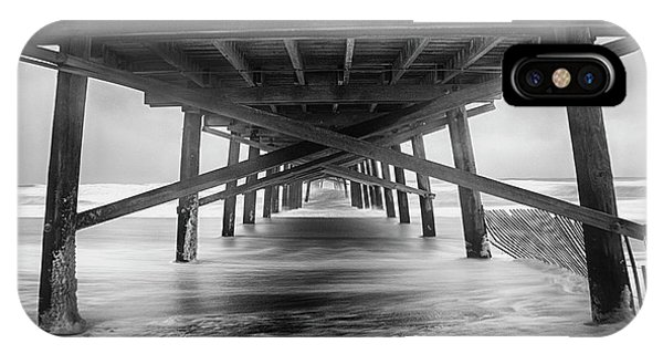 Storm iPhone Case - Oceanana Pier by Errick Cameron