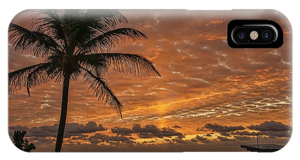 Oceanfront Park Sunrise 2 IPhone Case
