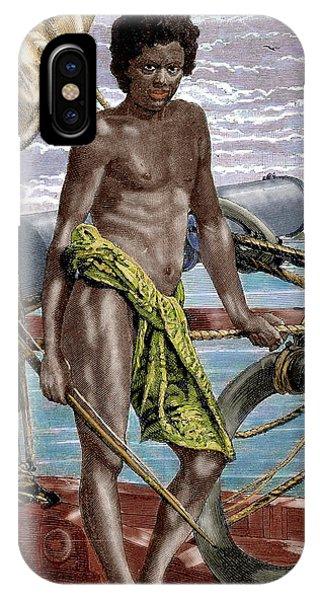 Micronesia iPhone Case - Oceania Micronesia Koror Native (palau by Prisma Archivo