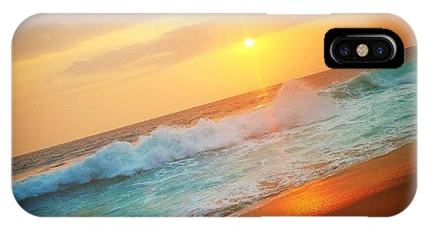 Beautiful Sunrise iPhone Case - Oceanic Sunset by Raimond Klavins