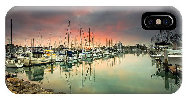 Oceanside Harbor Sunrise IPhone Case