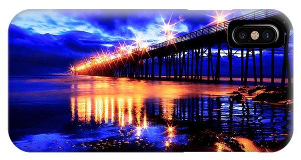 Oceanside Pier 4 IPhone Case