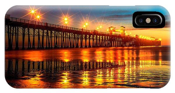 Oceanside Pier 2 IPhone Case