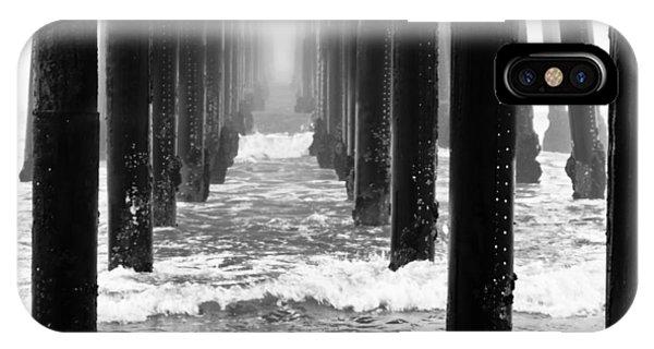 Oceanside Pier In Fog IPhone Case