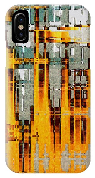 Ochre Urbanity IPhone Case