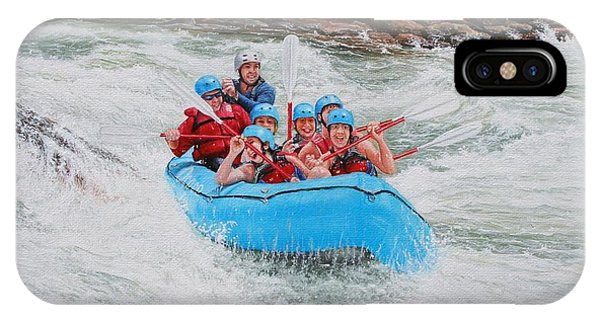 Ocoee River Rafting IPhone Case
