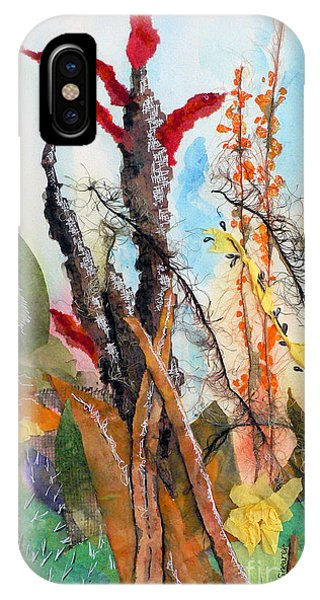 Ocotillo Collage IPhone Case