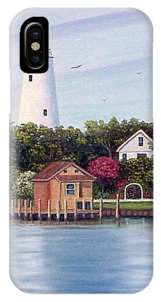 Ocracoke Island Light IPhone Case