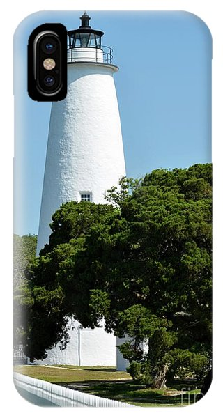 Ocracoke Island Light IPhone Case