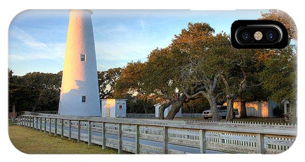Ocracoke Last Light - Outer Banks IPhone Case