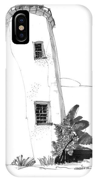 Ocracoke Light 1970s IPhone Case