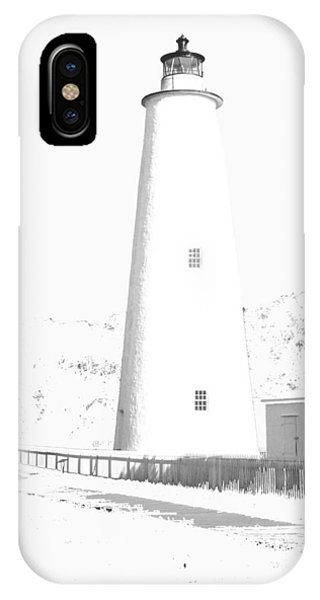 Ocracoke Lighthouse IPhone Case