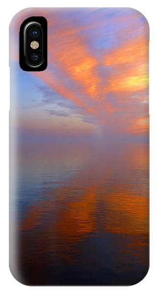 Ocracoke Nc Sunrise IPhone Case