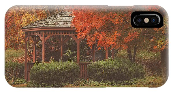 October At Deer Path Park IPhone Case