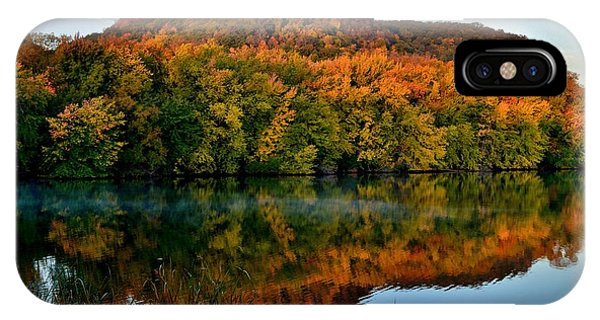 October Bluffs IPhone Case
