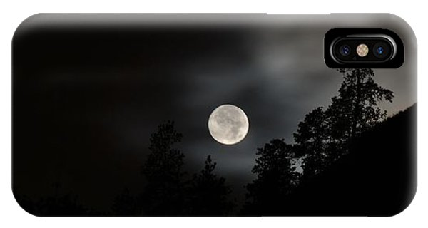 October Full Moon II Phone Case by Phil Dionne
