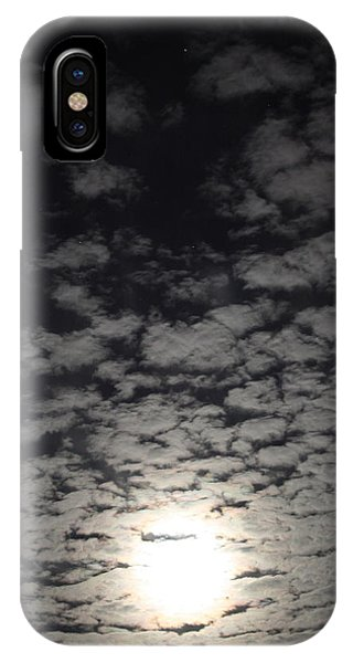October Moon IPhone Case