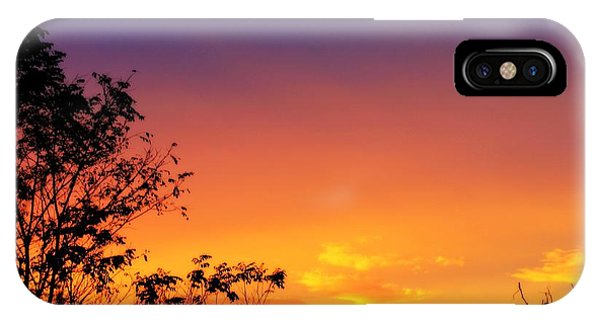 October Sky IPhone Case