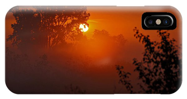 October Sunrise IPhone Case