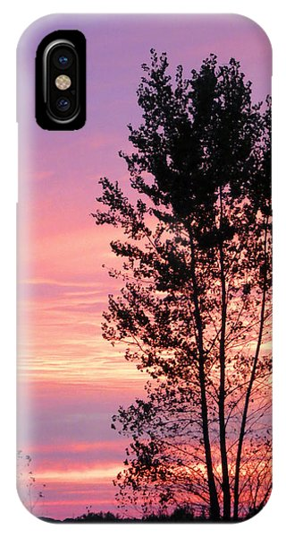 October Sunset IPhone Case