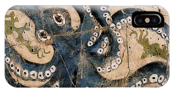 Bogdanoff iPhone Case - Octopus - Study No. 1 by Steve Bogdanoff
