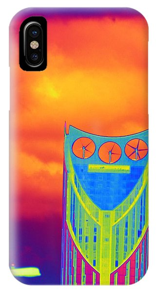 Odd Clocks In Orange IPhone Case