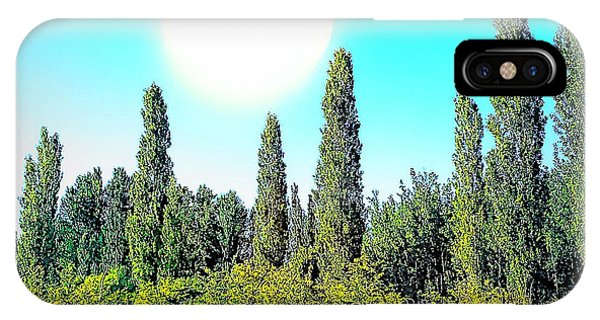Odd Landscape IPhone Case