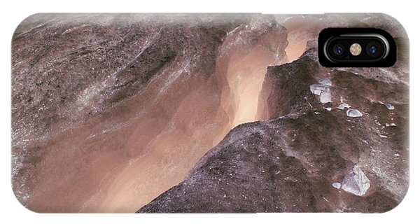 Ode To Crevasses 2 IPhone Case