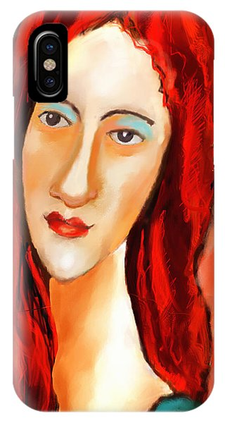 Ode To Modigliani IPhone Case