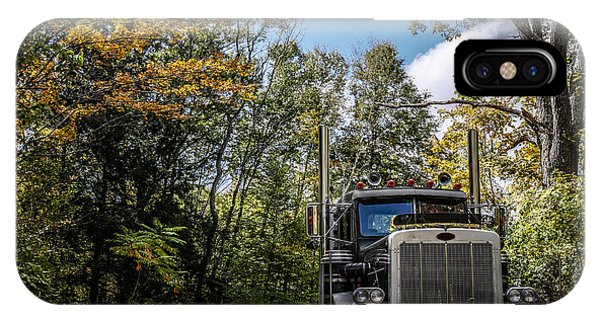 New Hampshire iPhone Case - Off Road Trucker by Edward Fielding