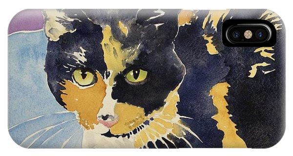 Office Cat IPhone Case