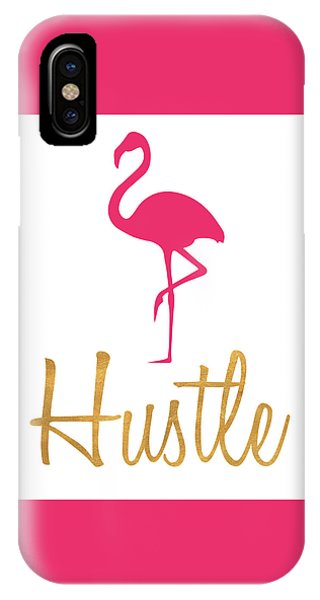 Flamingo iPhone Case - Office Pop I by South Social Studio