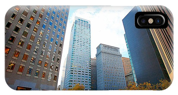 Oranger iPhone Case - Office Space For Rent In Downtown San Francisco by Artist and Photographer Laura Wrede