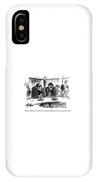 Botticelli iPhone Case - Oh, And Botticelli. Botticelli Would Probably by Warren Miller